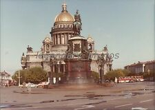 1986 St. Isaac's Cathedral in Leningrad Russia Original News Service Photo