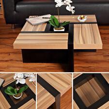 Couchtisch Beistelltisch Wohnzimmertisch Designertisch Holztisch Braun Schwarz