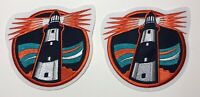 New York Islanders Fisherman Shoulder Patches Light House Patch Lot of Two