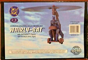 "Horizon Solid Model Kit Whirly-Bat W/Batman Figure 1/24 Scale (3 1/4"" high)"