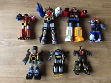 POWER RANGERS MEGAZORD Figura Bundle WILD FORCE thundersaurus LIGHTSPEED ecc.