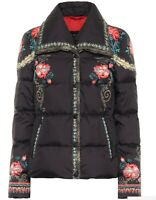 New ETRO FLORAL DOWN JACKET PUFFER 42 M 2019