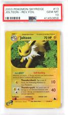 2003 Pokemon Skyridge #13 Jolteon Reverse Holo PSA 10 Card GEM MINT Rare Low Pop