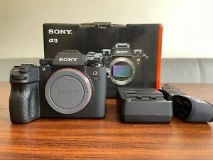 Sony Alpha A9 24.2MP Digital Camera, Boxed in Excellent condition