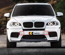 BMW NUOVO ORIGINALE x5m x6m e70 e71 gancio traino paraurti anteriore Eye Cover KIT 7205545