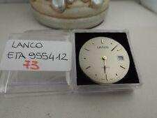 73 - Movimento Lanco eta 955.412 working sold for parts or repair