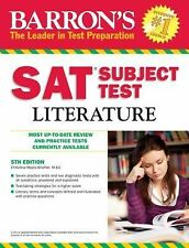 Barron's SAT Subject Test: Literature, 5th Edition, Myers-Shaffer, Christina, Ve
