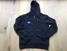 BNWOT Canterbury Men's Navy Blue Zip Up Hooded Jacket Size S