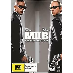 MEN IN BLACK 2 DVD - NEW & SEALED WILL SMITH, TOMMY LEE JONES FREE POST