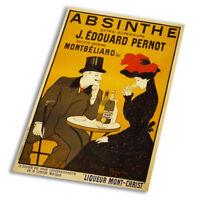 Absinthe Advert - Vintage Art Print Poster - A1 A2 A3 A4 A5