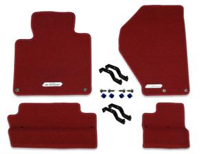 Genuine Honda S2000 Premium Red Carpet Mats (LHD) *R145L*