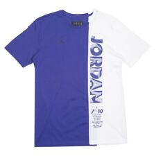 Bq0238-494 jordan men lgc aj11 jordan top tee germain blue white black