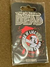 "The Walking Dead Pin SkyBound Yesterdays ""Take it Like a Champ"" NEW MIP"