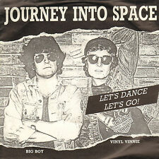 "JOURNEY INTO SPACE – Let's Dance! Let's Go (1987 SYNTH. POP SINGLE 7"" DUTCH PS)"