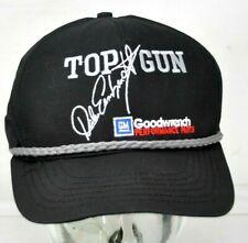 Vintage Dale Earnhardt Cap Black Hat Top Gun Goodwrench Nascar Racing #3