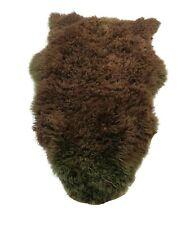 GENUINE SOFT SHEEP SKIN RUG Lambskin HOME DECORATION 100 cm x 60 cm.-9