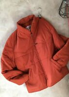 VTG LEE Jeans Men Jacket XL Quilted Puffa Padded Chore Coat Workwear Utility USA