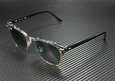 RAY BAN RB3016 125571 Clubmaster Spotted Grey Green Grey Gradient 49m Sunglasses