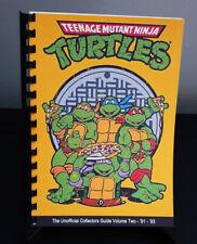 100% Unofficial Teenage Mutant Ninja Turtles/TMNT Collectors Guide - Volume 2
