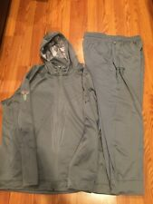 Barely Used Nike Kobe Dri Fit Track Suit Gray Jacket Sz 3XL Pants Sz 2XL Mamba