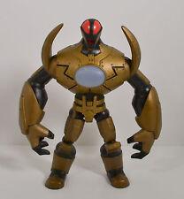 "2011 Gold Metanoid 7"" Spin Master Action Figure RedaKai"