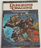 Dungeons and Dragons Players Handbook Game Core Rules 4th Edition D&D EUC