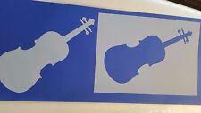 Schablone 622 Geige Vintage Stanzschablone Flex-Schablone Shabby Tattoos Stencil