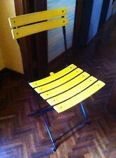ZANOTTA - Nr.02 sedie pieghevoli  modello CELESTINA colore bianco