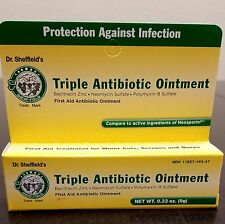 Dr. Sheffield's Triple Antibiotic Ointment (EXPIRES 10/2017)