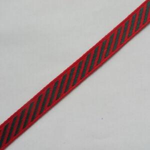 Rausverkauf 4m  Borte 1,3cm breit rot grün