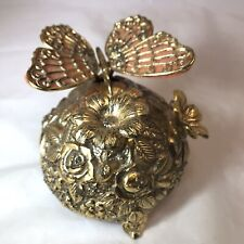 Vintage Butterfly Musical Automaton Mechanical Wind Up Music Box (Westland)