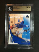 Luka Doncic Rookie Card 2018-19 Panini Threads In Motion #15 Gem Mint BGS 9.5