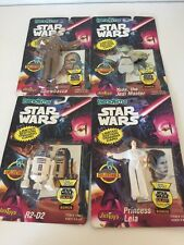 Star Wars Bend-Ems 1993 Chewbacca R2-D2 Today Princess Leia