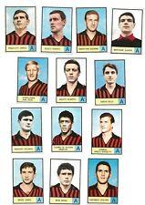 Calciatori Mira 1966/67 - lotto set  13 figurine Milan