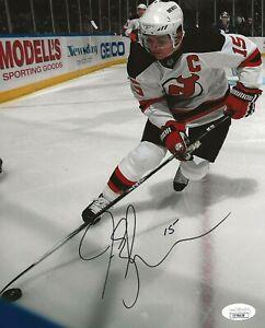 Jamie Langenbrunner signed New Jersey Devils 8x10 photo autographed JSA
