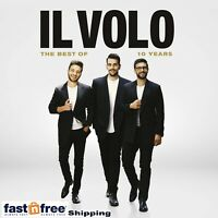 IL VOLO CD - 10 YEARS: THE BEST OF [CD/DVD DELUXE EDITION](2019) - NEW UNOPENED