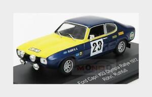Ford England Capri 2600 Gt #23 Rally Olympia Erc 1972 W.Rohrl CMR 1:43 WRC012 Mo