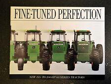 John Deere Brochure - Fine Tuned Perfection - 60 Series Tractors 4560 4760 4960