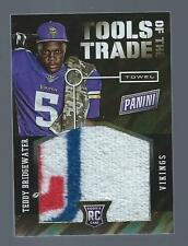 2014 Panini Black Friday Tools of the Trade Teddy Bridgewater NFL Logo Towel