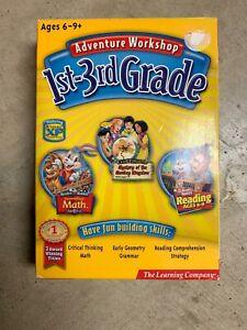 Adventure Workshop 1-3rd Grade 3-CDs. Reader Rabbit And Clue Finders