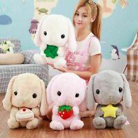 Rabbit Bunny Pillow Plush Toy Doll Animal Stuffed Home Decoration Birthday Gift