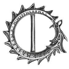 ALCHEMY JORMUNGAND PEWTER BELT BUCKLE WORLD SERPENT, NORSE, CELTIC DRAGON, RUNES