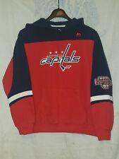 Boy's Majestic Washington Capitals Hoodie/Sweatshirt. Sz.L