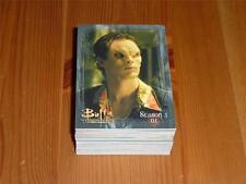 Buffy The Vampire Slayer The Story So Far - Complete 81 Card Base Set Ikon 2001