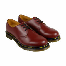 Chaussures décontractées rouge Dr. Martens pour homme
