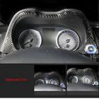 Carbon Fiber Dashboard Speedmeter Panel Gard Cover Trim fit for Infiniti Q50