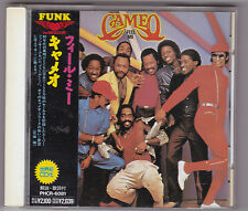 CAMEO  FEEL ME 1980 Japan CD w/OBI Rare  1st Pressed  PHCR6081