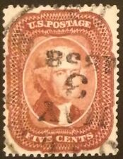 #28, 5c Red Brown Ty I 1857, used, faults, Superb appearance, 2019 Crowe cert