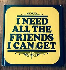 """"""" I Need All The Friends I Can Get"""" by Charles M Schultz- 1st Edition- 1964"""