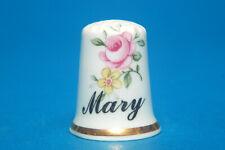 Girl's Name Mary China Thimble B/18